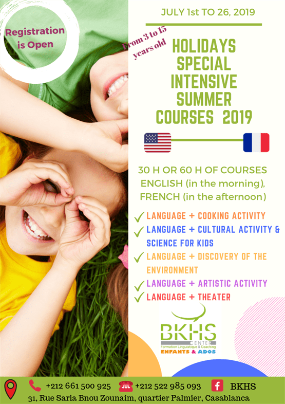 , Intensive summer courses
